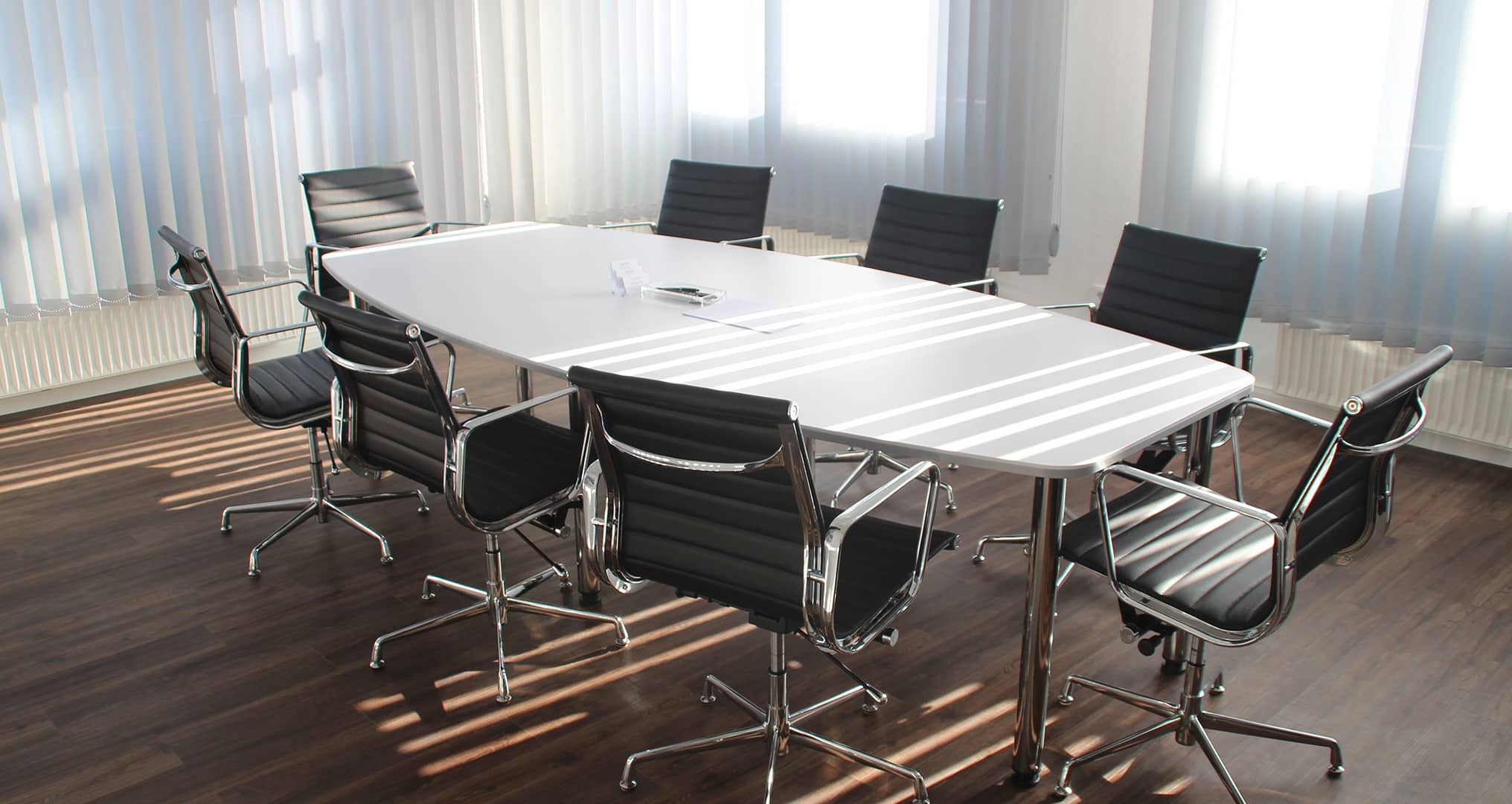 open concept conference room
