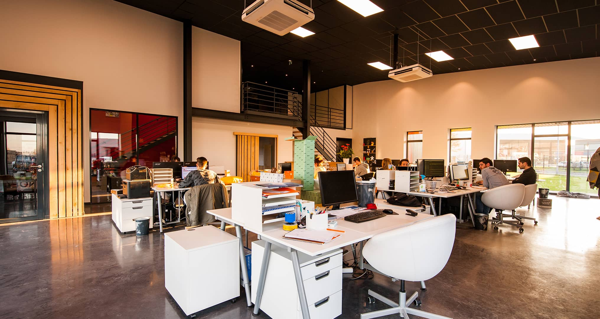 open office concept for business