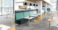 modern breakroom in Indianapolis