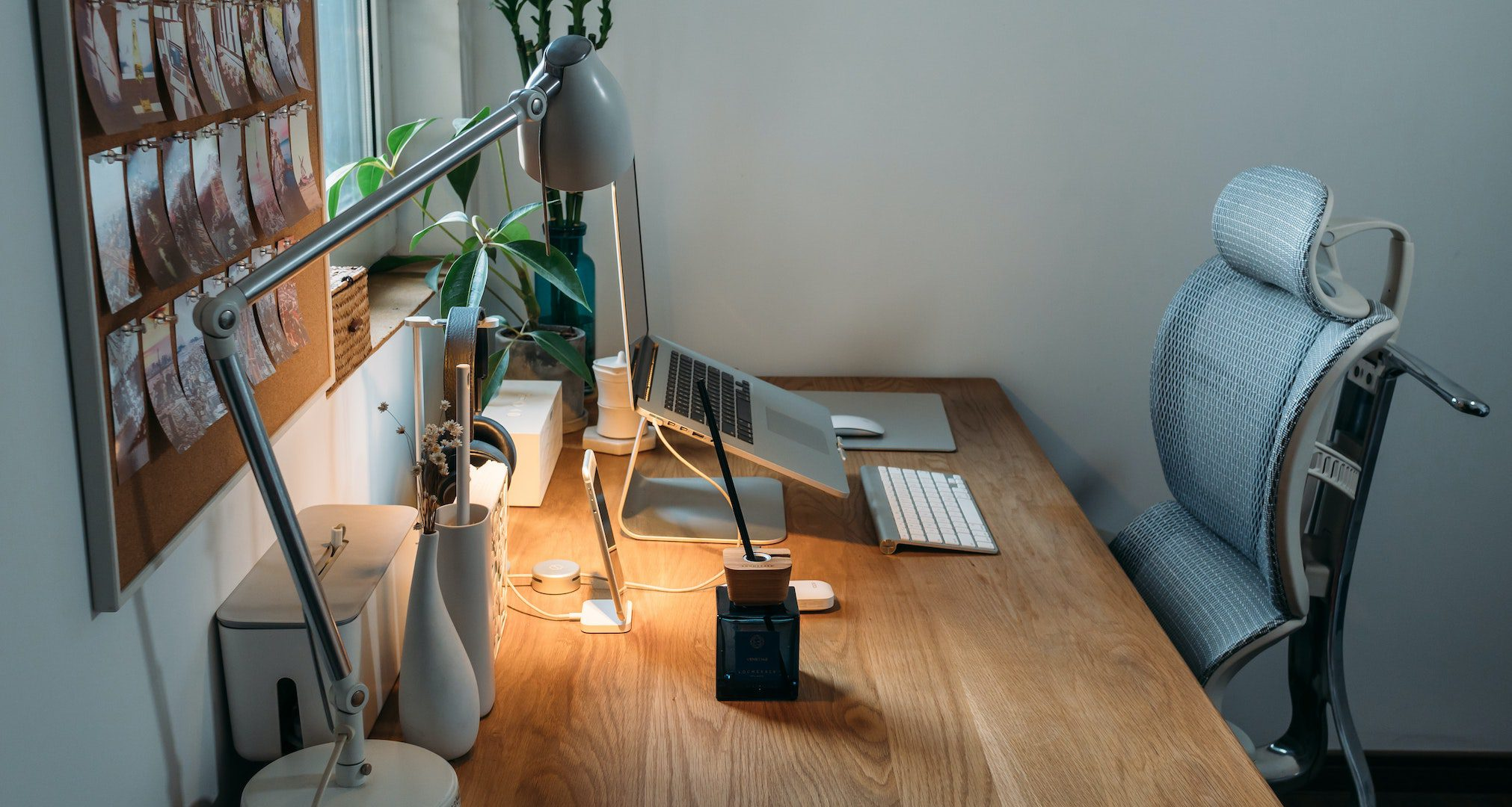 ergonomic chair in home office