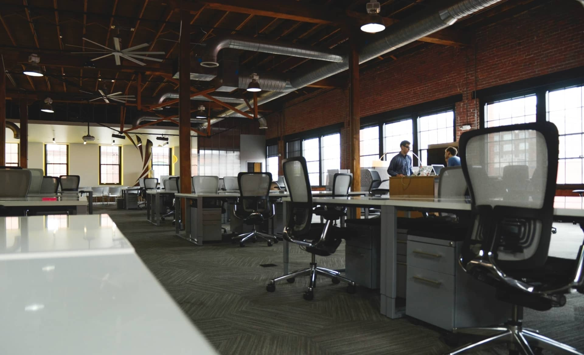 Open office concept to encourage productivity