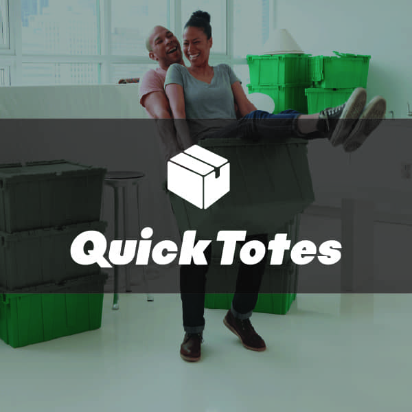 office interiors, workplace, QuickTotes logo