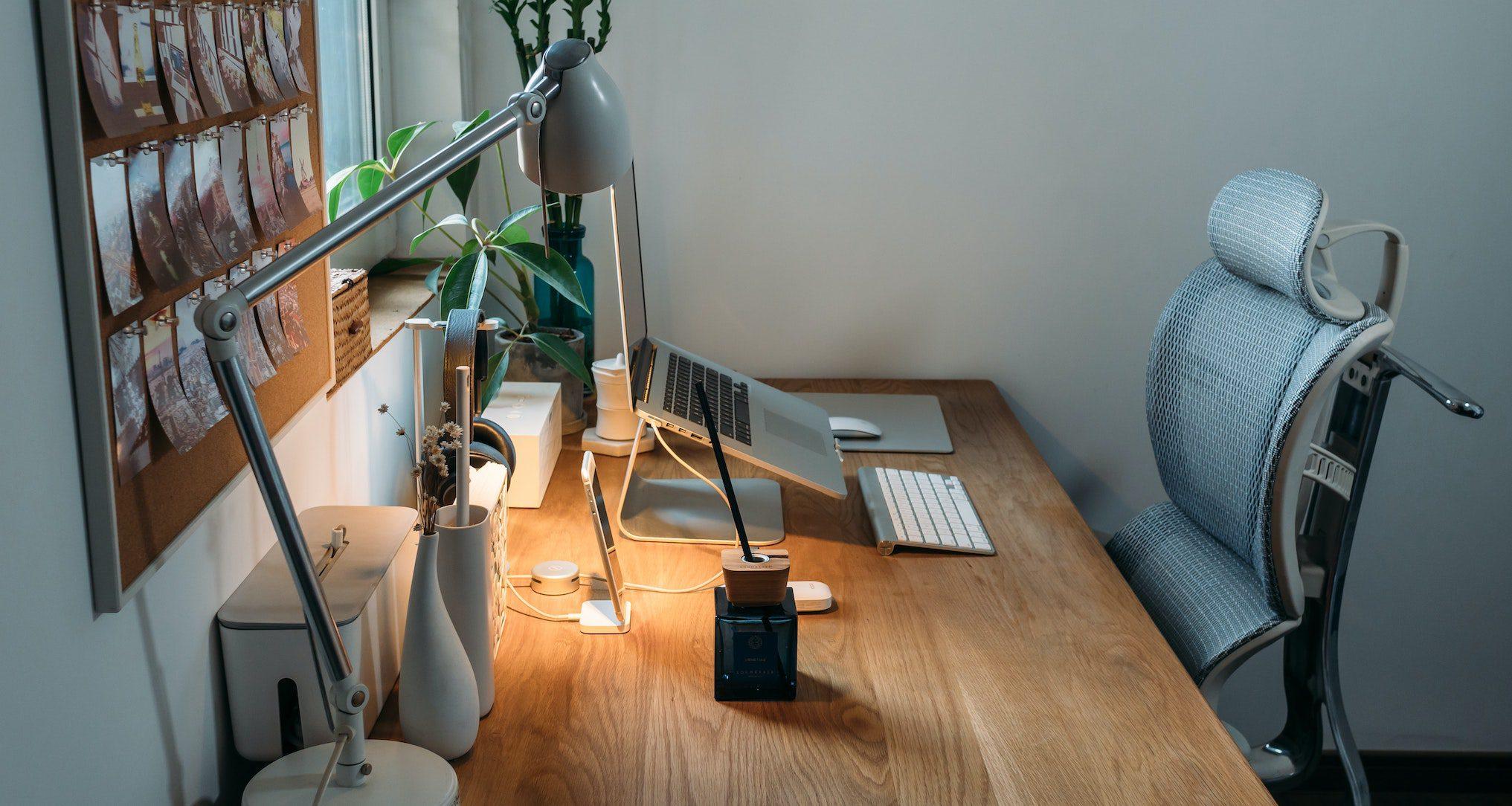 ergonomically correct office