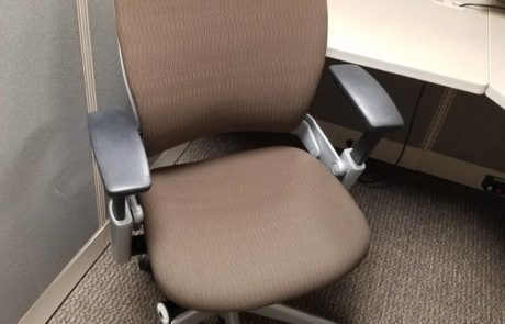 Tan high back office chair for sale at iSpace Office