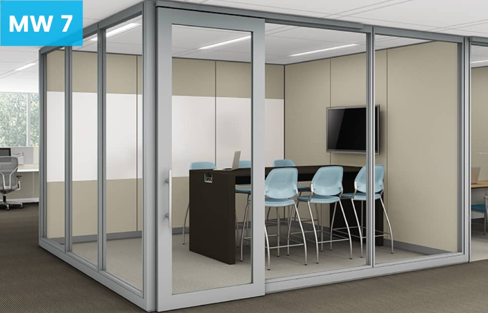 conference room made with moveable walls