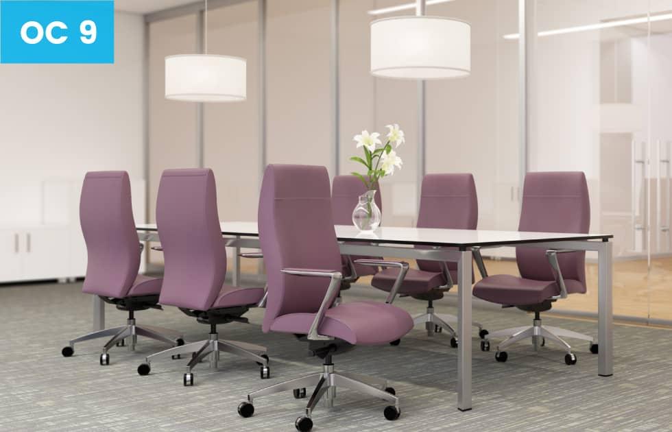 elegant lavender high back office chairs