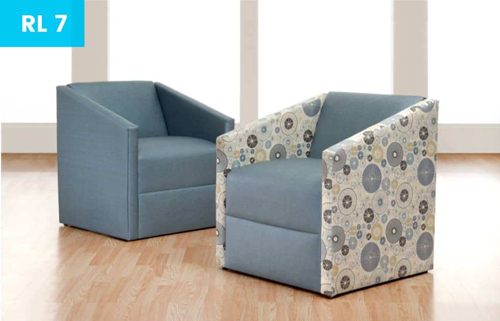 decorative office waiting room chairs