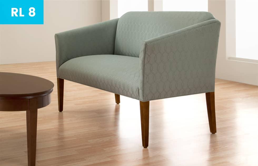 elegant waiting room chair