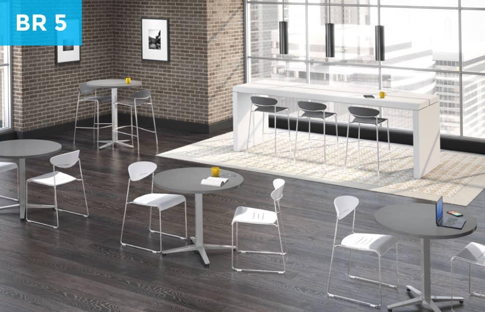 open office breakroom concept