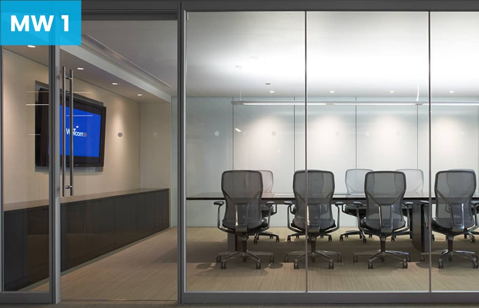 private conference room make with moveable walls